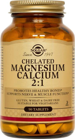 Solgar Chelated Magnesium Calcium 2:1