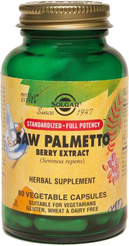 Solgar SFP Saw Palmetto Berry Extract