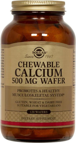 Solgar Chewable Calcium 500 mg Wafers