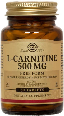 Solgar L-Carnitine 500 mg