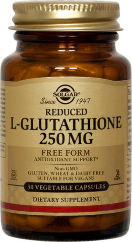 Solgar Reduced L-Glutathione 250 mg