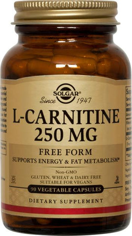 Solgar L-Carnitine 250 mg