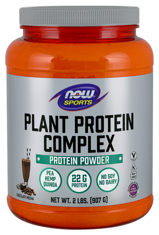 NOW Sports Plant Protein Complex - Chocolate Mocha