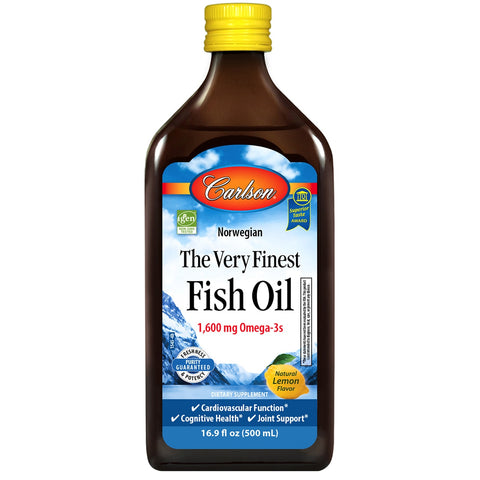 Carlson The Very Finest Fish Oil Liquid