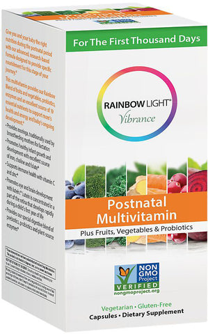 Rainbow Light Vibrance Postnatal Multivitamin