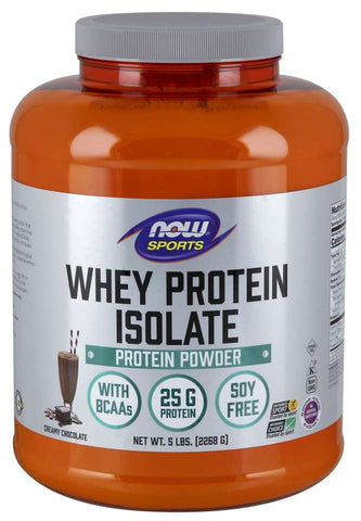 NOW Sports Whey Protein Isolate - Creamy Chocolate