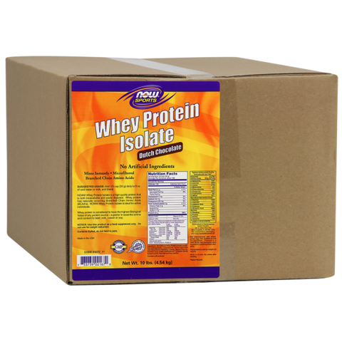 NOW Whey Protein Isolate - Chocolate