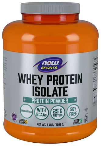 NOW Sports Whey Protein Isolate - Unflavored