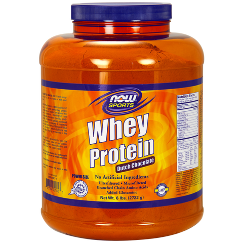 NOW Whey Protein - Dutch Chocolate
