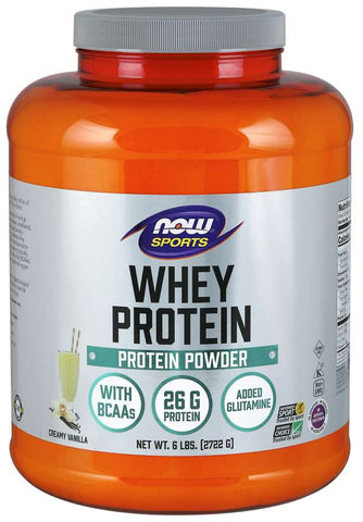 NOW Sports Whey Protein - Creamy Vanilla