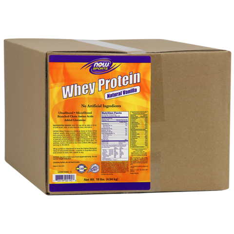 NOW Whey Protein - Vanilla