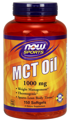 NOW Sports MCT Oil 1000 mg