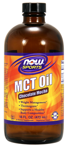 NOW Sports MCT Oil - Chocolate Mocha