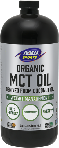 NOW Sports Organic MCT Oil