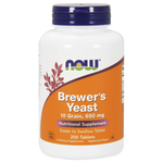 NOW Brewer's Yeast Tablets