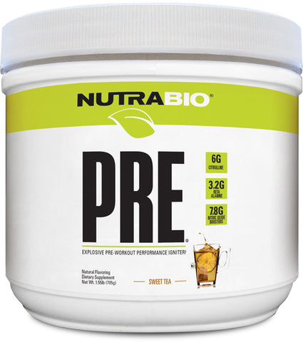 NutraBio PRE Workout V5 Natural