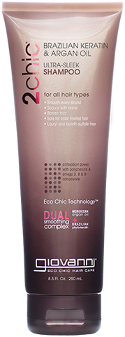 Giovanni 2chic Brazilian Keratin & Argan Oil Ultra-Sleek Shampoo