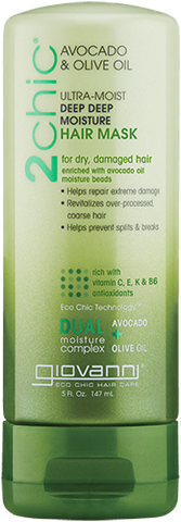 Giovanni 2chic Avocado & Olive Oil Ultra-Moist Deep Deep Moisture Hair Mask
