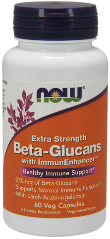 NOW Beta-Glucans with ImmunEnhancer 250 mg