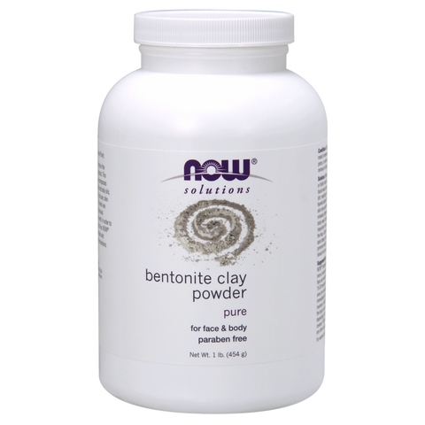 NOW Bentonite Powder 100% Pure