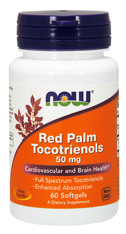 NOW Red Palm Tocotrienols 50 mg