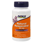 NOW Natural Resveratrol 50mg