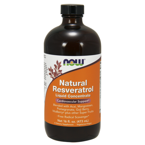 NOW Natural Resveratrol Liquid Concentrate