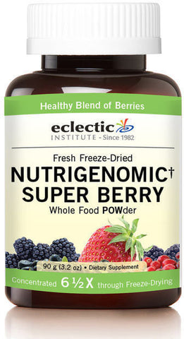Eclectic Institute Nutrigenomic Super Berry Whole Food POWder
