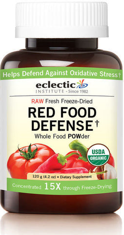 Eclectic Institute Red Food Defense Whole Food POWder