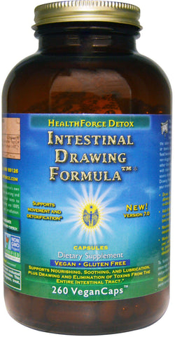 HealthForce SuperFoods Intestinal Drawing Formula