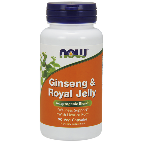 NOW Ginseng & Royal Jelly