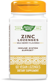 Natures Way Zinc Lozenges with Echinacea & Vitamin C