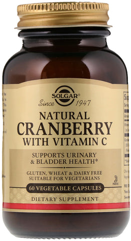 Solgar Natural Cranberry with Vitamin C