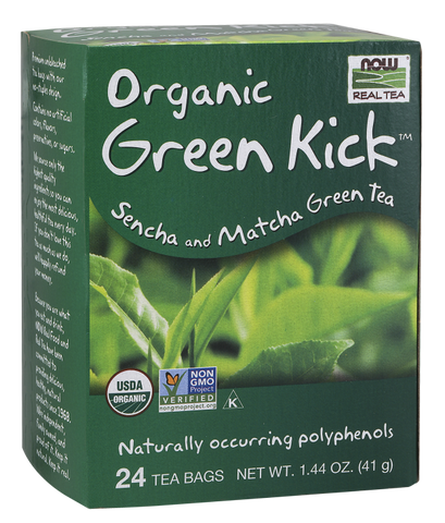 NOW Foods Green Kick Tea (Organic)