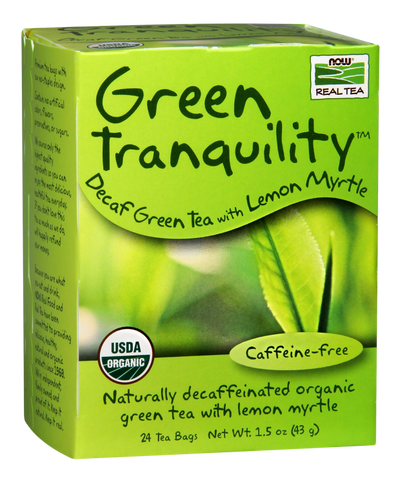 NOW Foods Green Tranquility Tea (Organic)