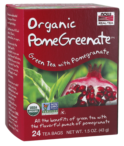 NOW Foods PomeGreenate Tea (Organic)