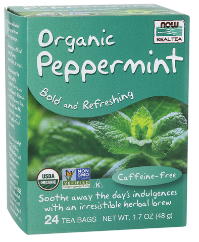 NOW Foods Peppermint Tea (Organic)