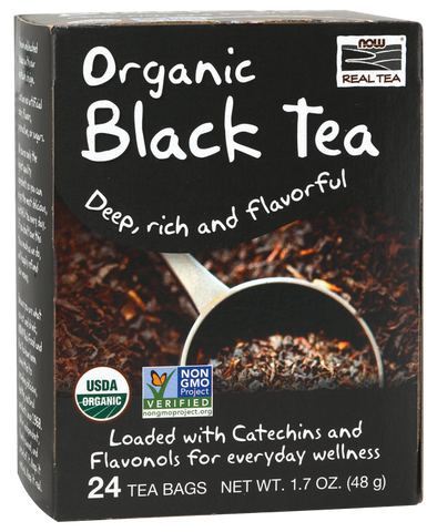 NOW Foods Black Tea (Organic)