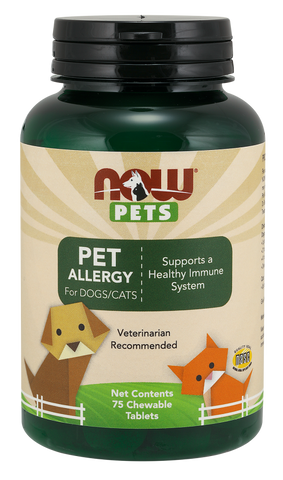 NOW Pets Pet Allergy for Dogs/Cats
