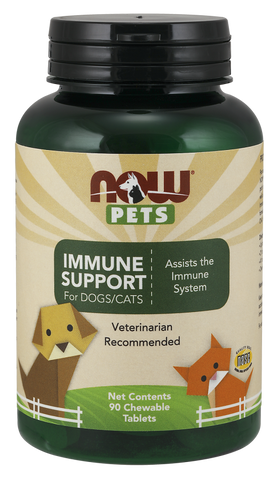 NOW Pets Immune Support for Dogs/Cats