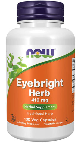 NOW Eyebright Herb 410 mg