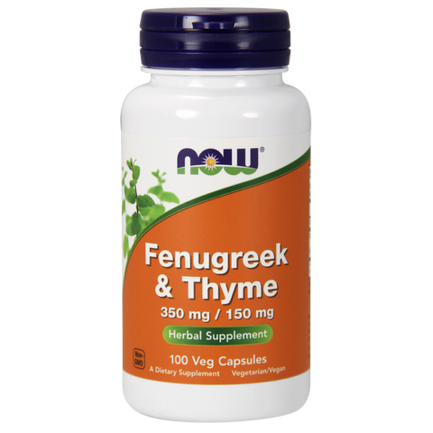 NOW Fenugreek & Thyme
