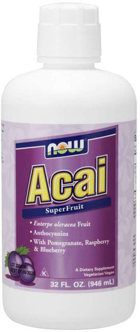 NOW Acai SuperFruit Antioxidant Juice