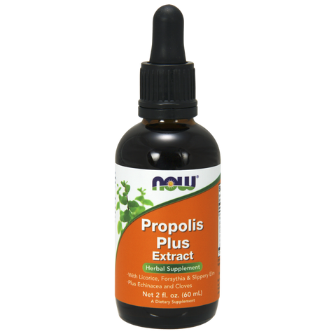 NOW Propolis Plus Extract Vegetarian Liquid
