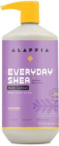 Alaffia Everyday Shea Body Lotion - Lavender