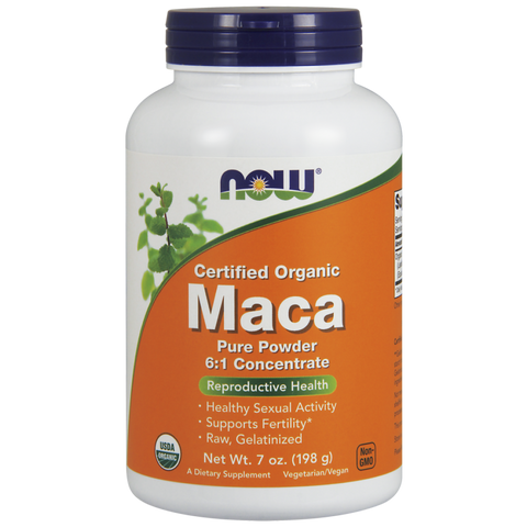 NOW Maca Pure Powder, Organic