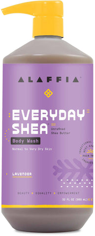 Alaffia Everyday Shea Body Wash - Lavender