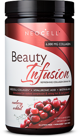 NeoCell Beauty Infusion Collagen Drink Mix - Cranberry Splash