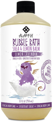 Alaffia Babbies & Kids Shea Bubble Bath - Lemon Lavender
