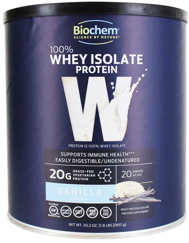 Biochem 100% Whey Isolate Protein - Vanilla